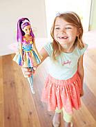 Лялька Barbie Дримтопия Чарівна фея фіолетова Barbie Dreamtopia Rainbow Cove Fairy Doll, фото 8