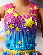 Лялька Barbie Дримтопия Чарівна фея фіолетова Barbie Dreamtopia Rainbow Cove Fairy Doll, фото 9