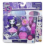 Набір My Little Pony лялечка Рарити і магазин трендових аксесуарів Equestria Girls Rarity Trendy Accessories, фото 3