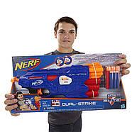 БластерNerf N-Strike EliteДвойнойвыстрел DualStrike, фото 8