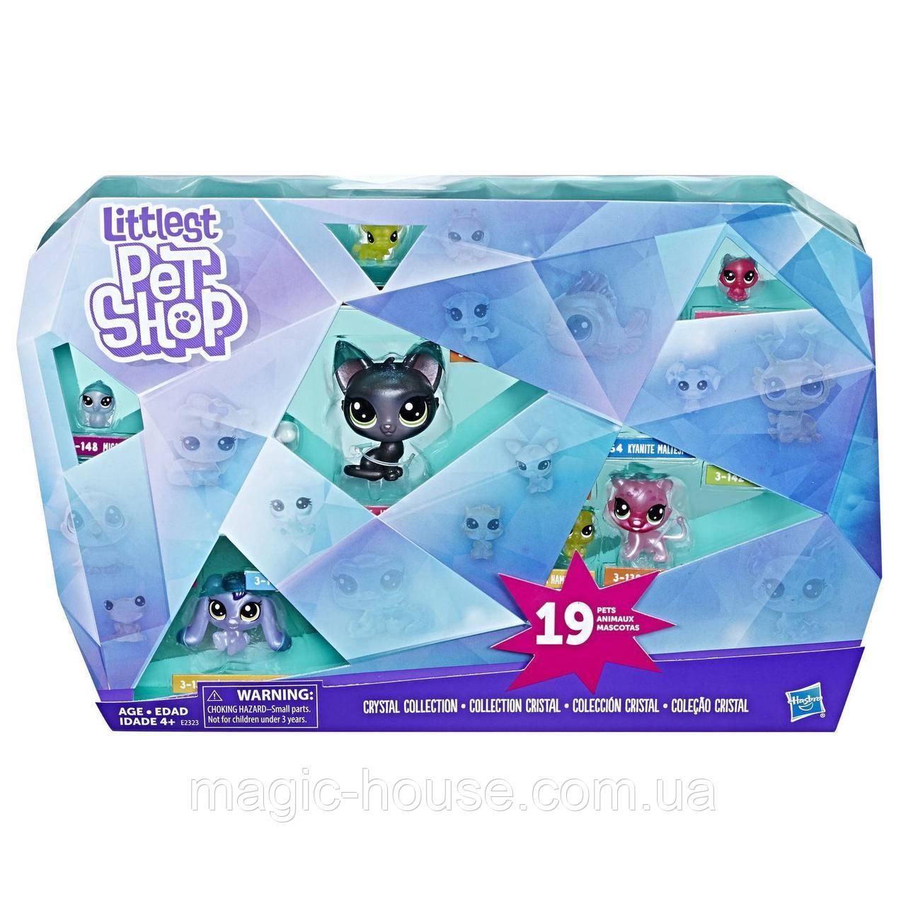 Littlest Pet Shop Эксклюзивная коллекция Кристалл от Hasbro