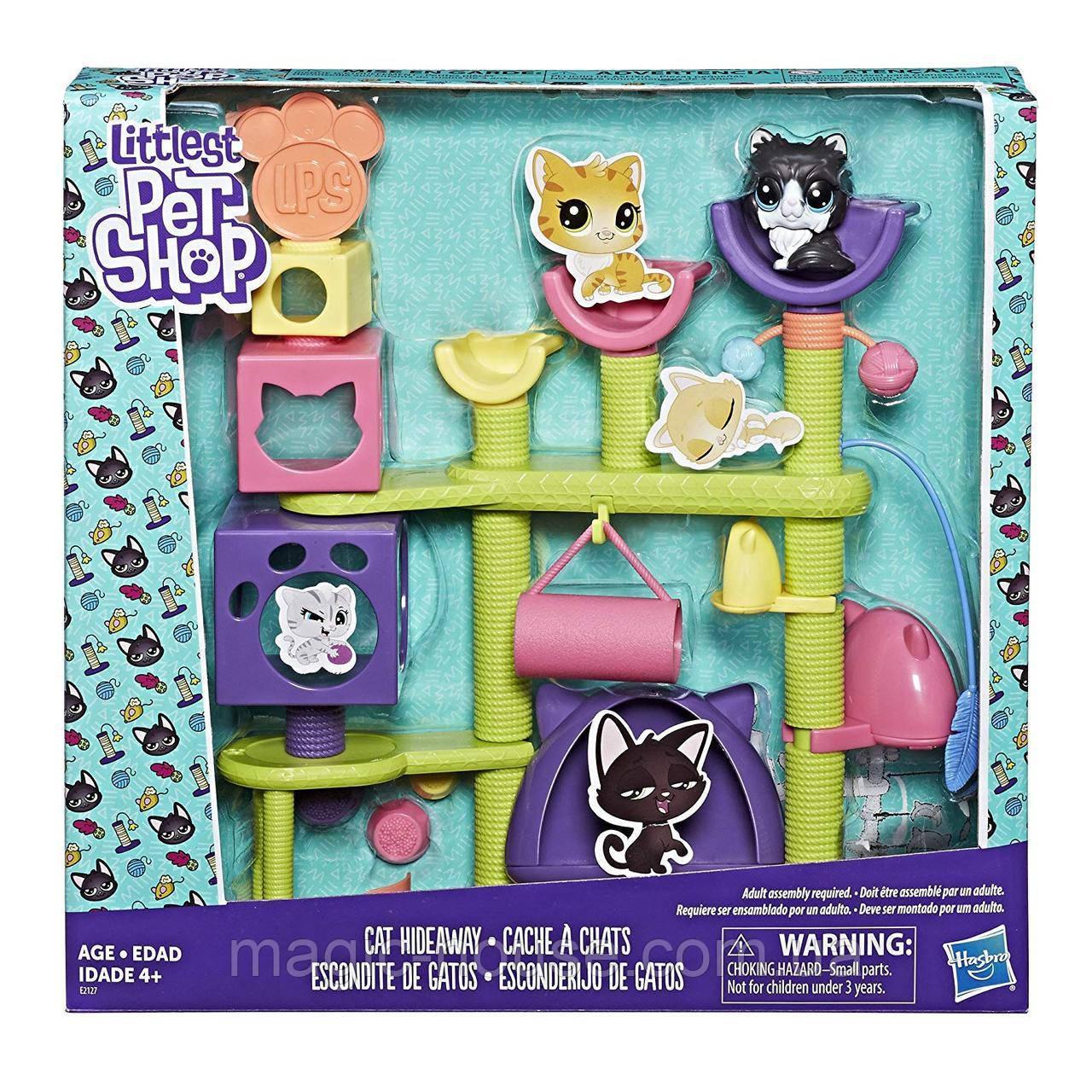 Игровой набор Лител Пет Шоп Домик для Кошки Littlest Pet Shop Cat Hideaway