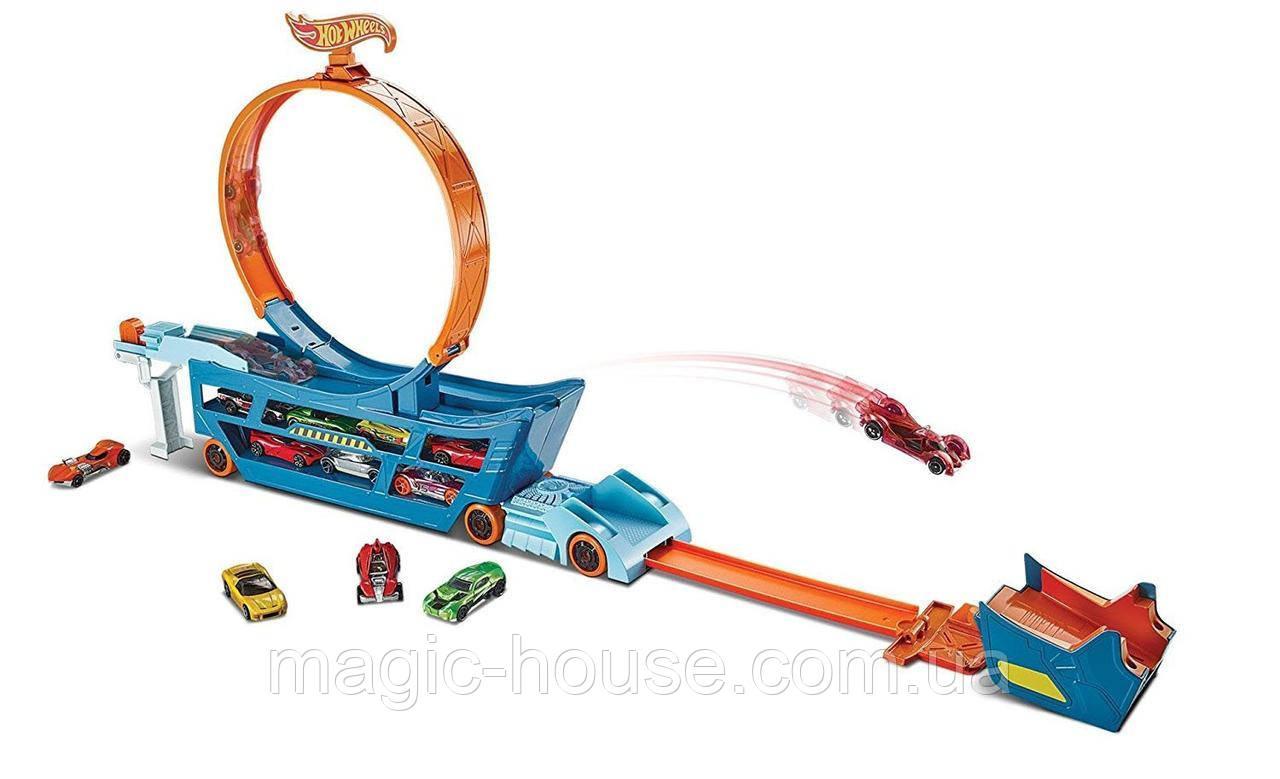 Трек Хот Вілс Автовоз з петлею Hot Wheels Stunt n' Go Track Set