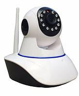 Беспроводная поворотная IP камера с сигнализацией WiFi microSD IPC-05