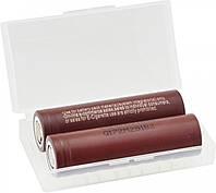 Высокотоковый аккумулятор батарея LG HG2 18650 3000 mAh 3,7V 20A (набор 2 аккумулятора)