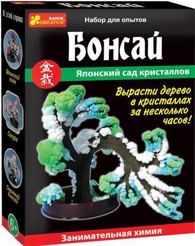 """Научная мини-игра """"Дерево в кристаллах. Бонсай"""""""
