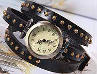 Винтажные часы браслет JQ retro black, фото 1