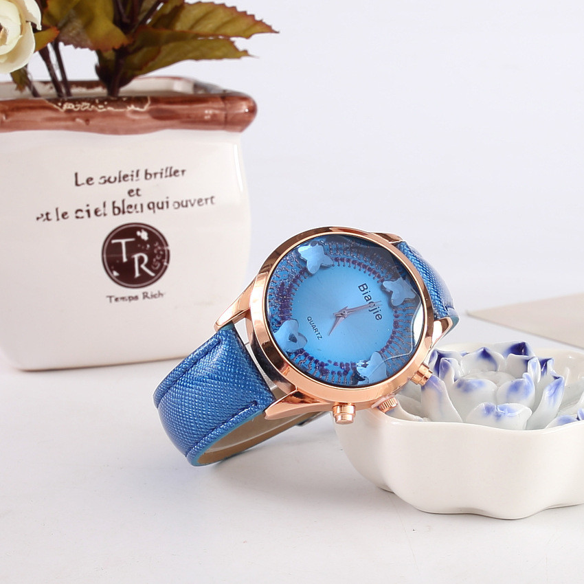 Часы наручные женские Gleam blue