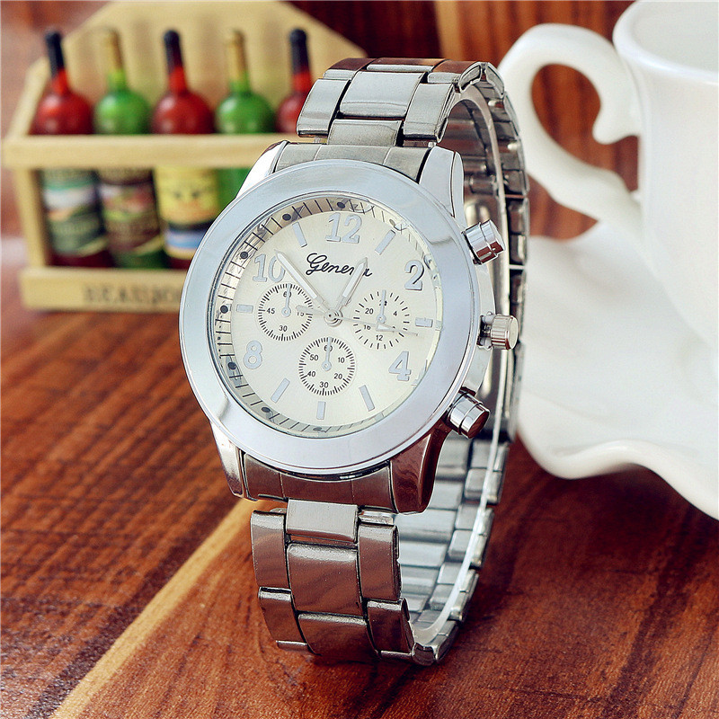 Часы наручные женские Geneva Lite silver