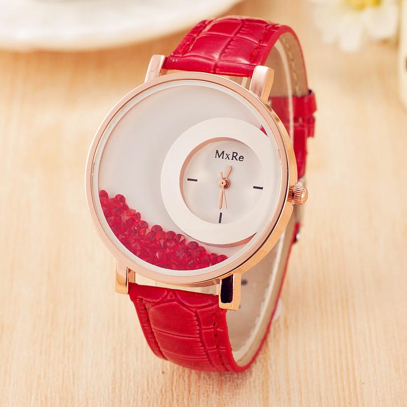Часы женские наручные Lunar red