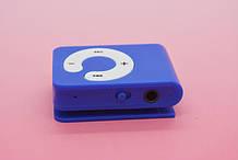 MP3 плеер Клипса + Наушники +USB переходник blue (синий)