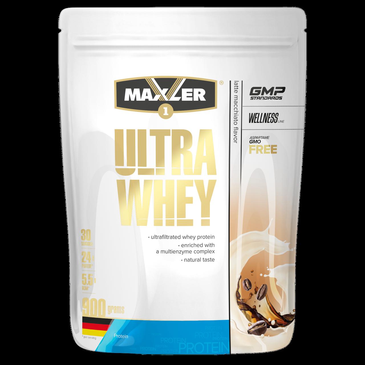 Max_Ultra Whey 900g пакет - latte macchiato