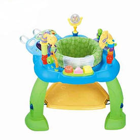 Игровой развивающий центр Huile Toys Музыкальный стульчик синий 696