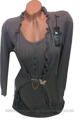 Женская кофта рукав