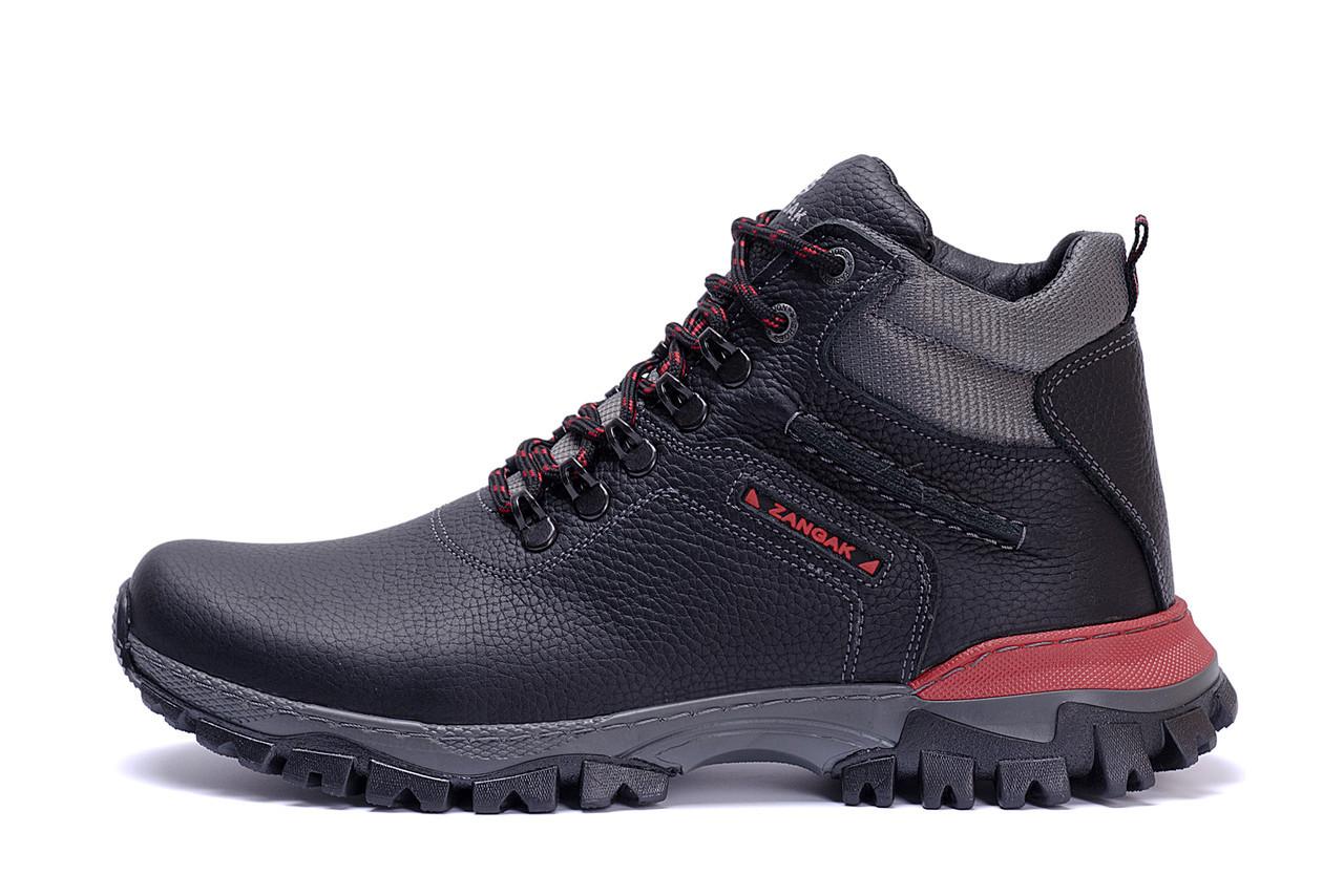 Мужские зимние кожаные ботинки ZG Flotar Red Line New, фото 1
