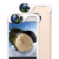 Сферический панорамный объектив для iPhone 360 градусов.