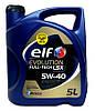 Моторное синтетическое масло Elf(эльф) Evolution Full-Tech LSX 5W-40 5л.