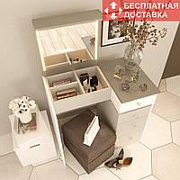Туалетный столик «Amarant-3-2R» (800*1000*500 мм) | Бесплатная доставка НП