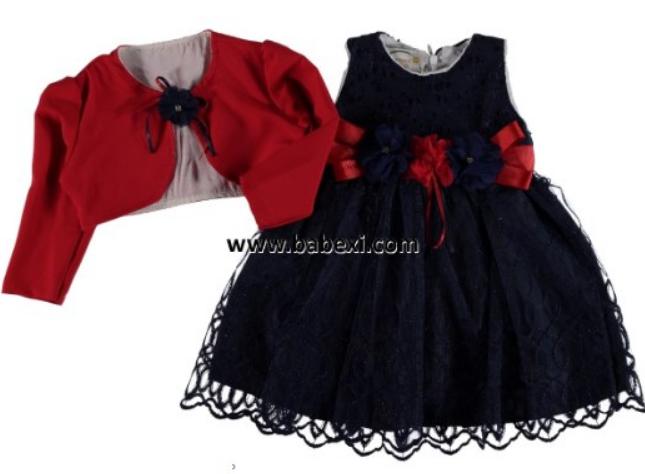 Платье для девочки, Турция, Bebexi, рр. 1 год,  арт. 72538,