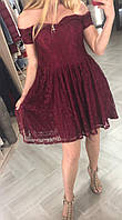 Платье женское кружевное высокого качества TAHA , Турция