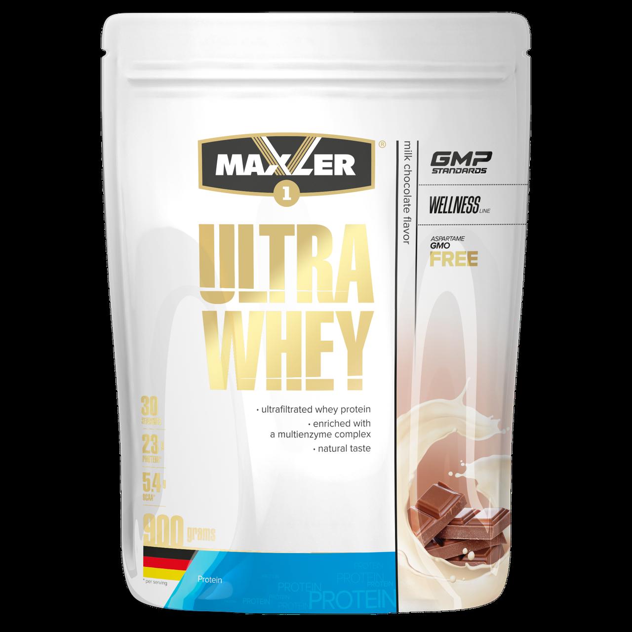 Max_Ultra Whey 900g пакет - milk chocolate