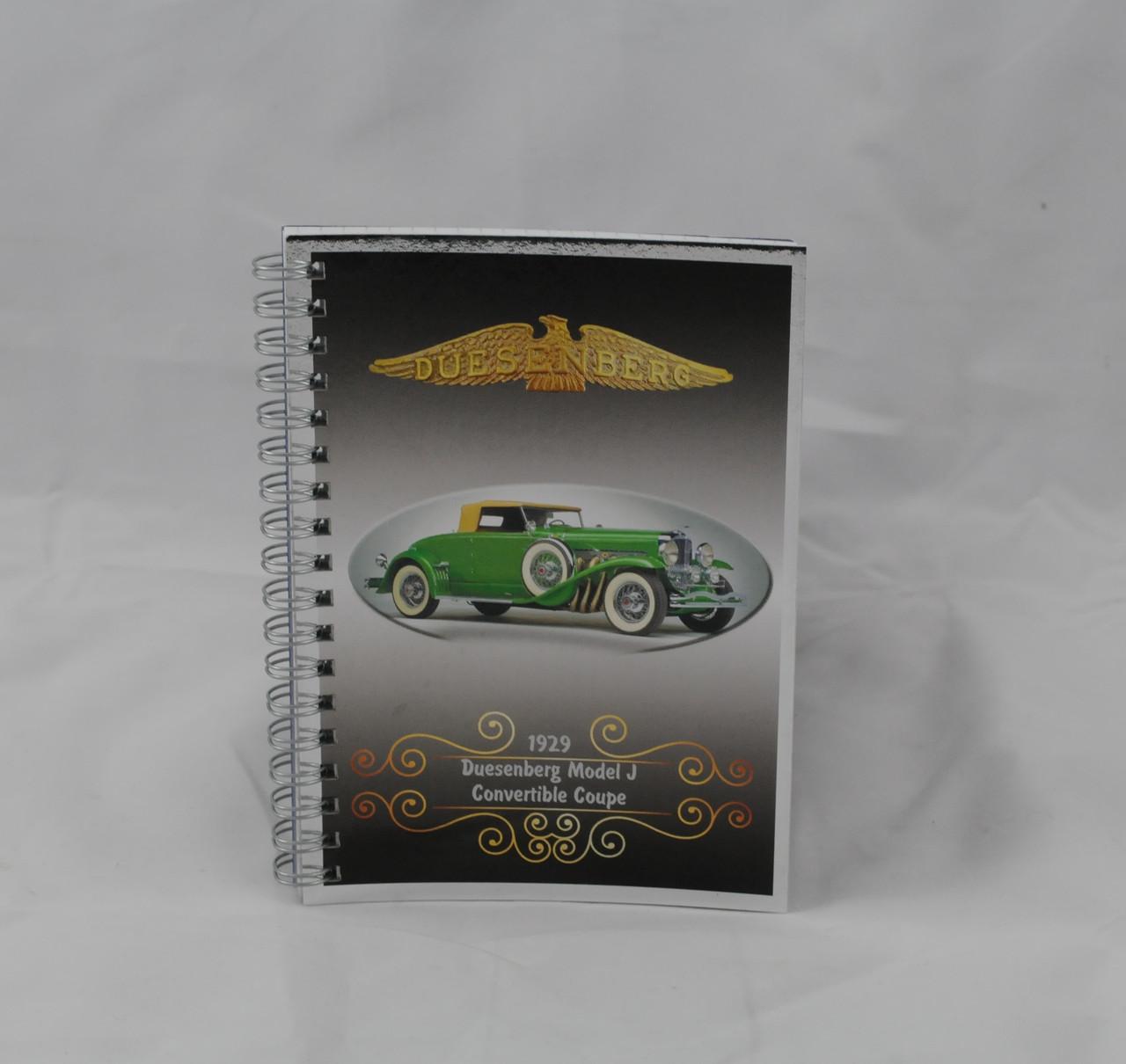 Блокнот серія Вінтаж Авто, А6, 70 арк, офсетний, клітинка