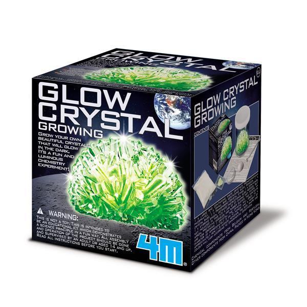 🔥 Набор для творчества 4M Сверкающие кристаллы (00-03918/EU)