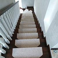 Ступени для лестниц, антиковзаючі килимки, сходи