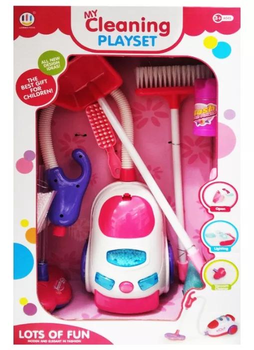 Іграшковий пилосос 0781 зі світловими і звуковими ефектами
