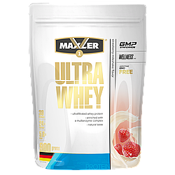 Max_Ultra Whey 900g пакет - strawberry milkshake