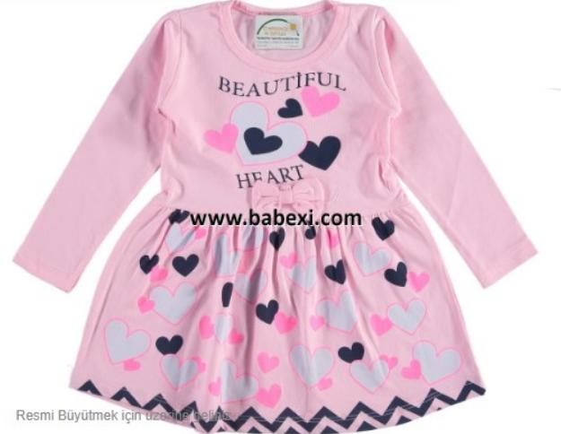 Платье для девочки, Турция, Bebexi, арт. 72540