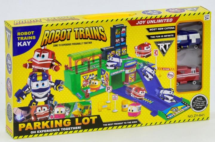 """Гараж Роботы Поезда ZY 641 """"Robot Trains"""""""