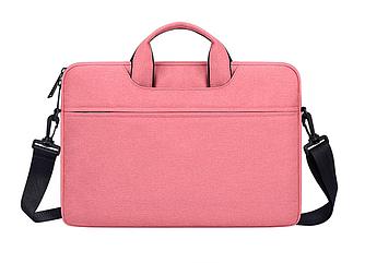 Сумка  для Macbook Pro 15,4''/16'' - розовый