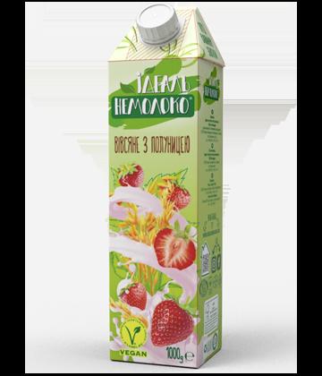 Напиток ультрапастеризованный Овсяный с клубникой Идеаль Немолоко, 1л