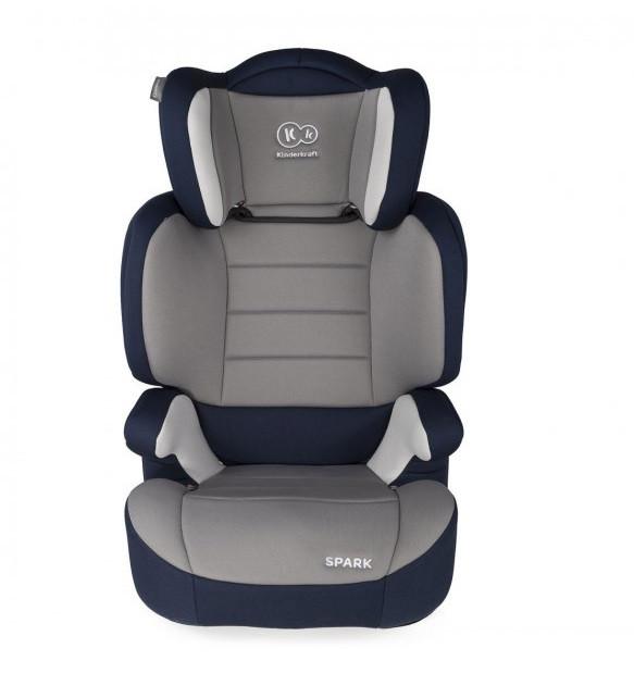 Детское автокресло KinderKraft Spark UP 2-3 15-36 кг серо-синее