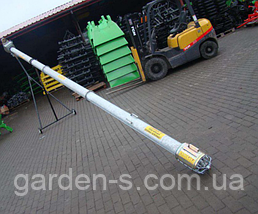Шнековый погрузчик (транспортёр) Kul-met 12 метров, фото 2