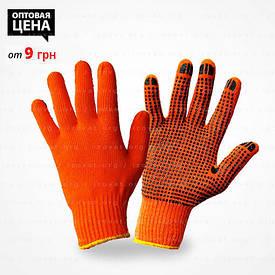 Будівельні рукавички (чорна точка), купити в Києві