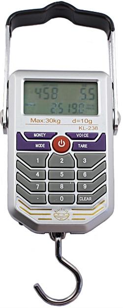 Электронный весы на 50 кг - кантер (безмен) с детектором валюты., фото 1