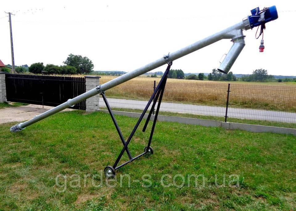 Шнековый погрузчик (транспортёр) Kul-met 6 метров