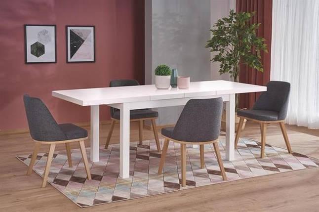 Стол раскладной TIAGO- 2 140*80(белый) (Halmar), фото 2