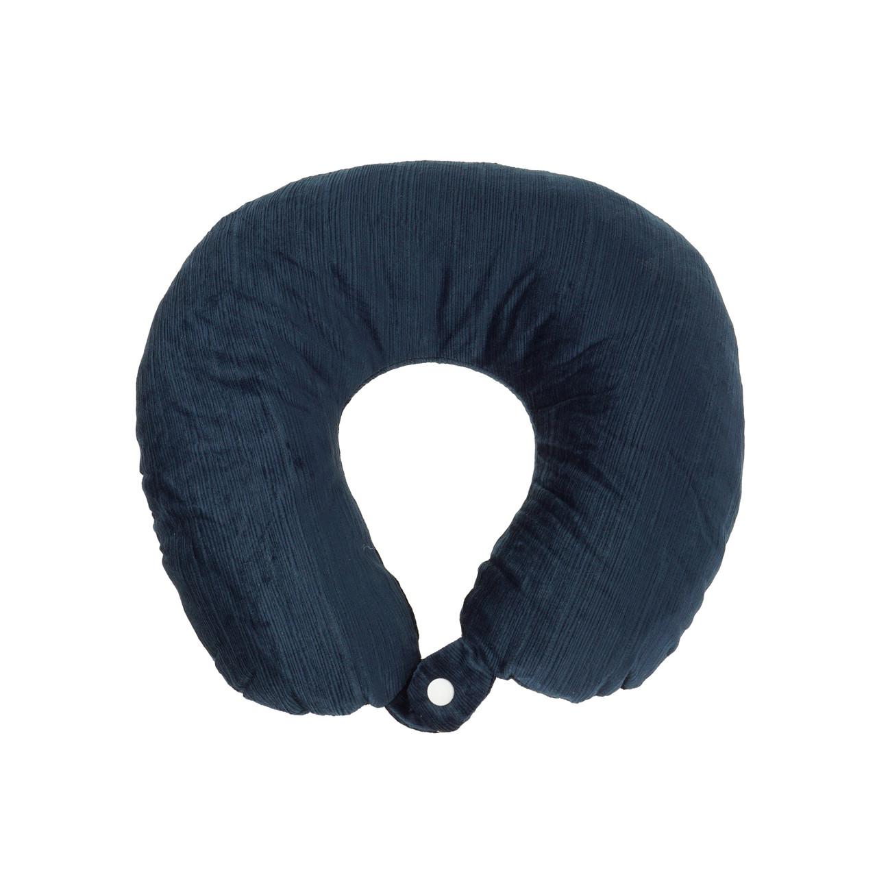 Дорожня подушка для подорожей, синій