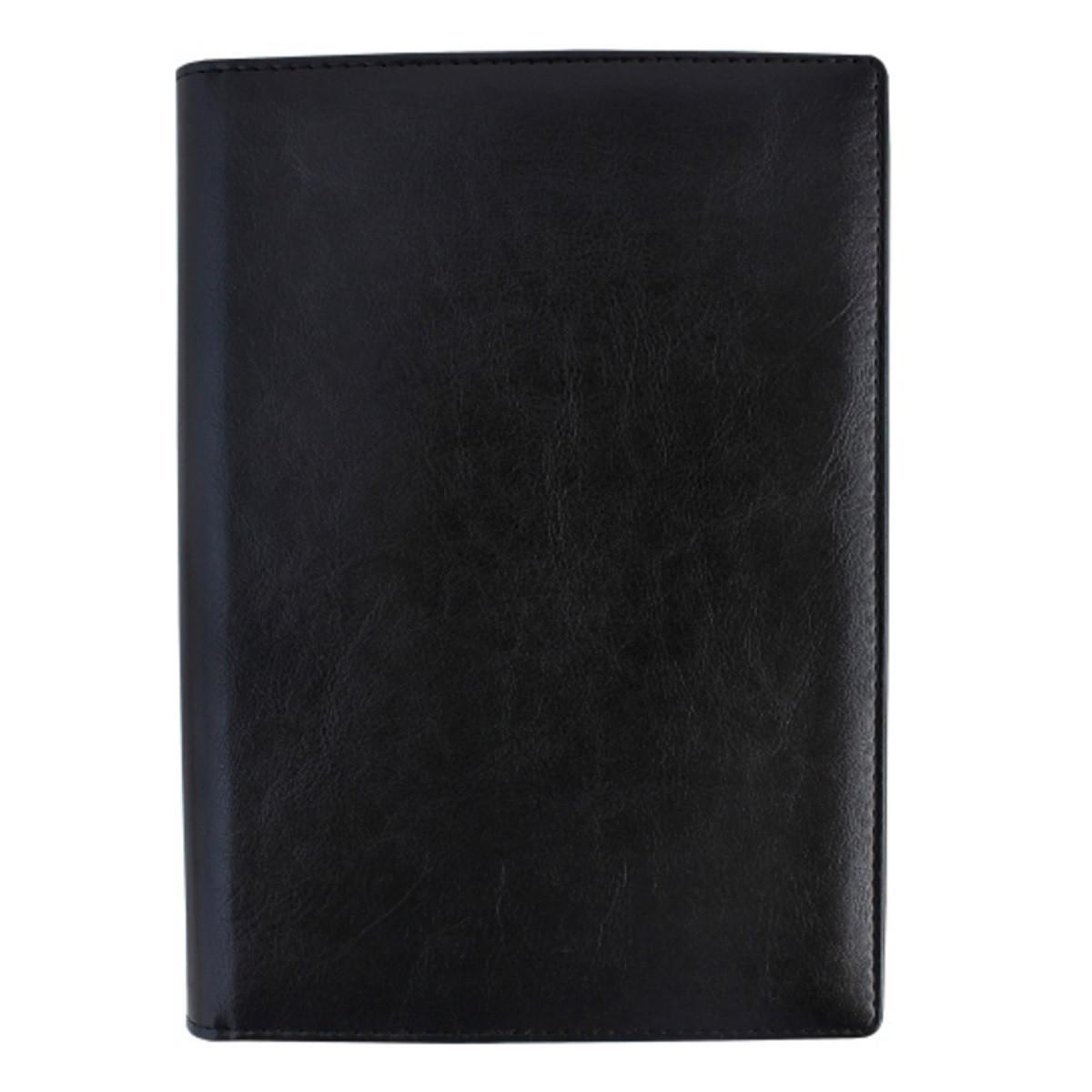 Ежедневник датированный на 2020г. в обложке чёрный О25232