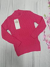 Детский свитер для девочки р.5-10 лет опт