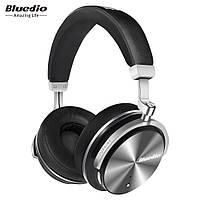 Наушники беспроводные Bluedio T4S с микрофоном (черные)