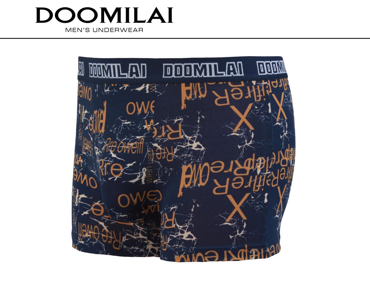 Чоловічі боксери стрейчеві з бамбука Марка «DOOMILAI» Арт.D-01301