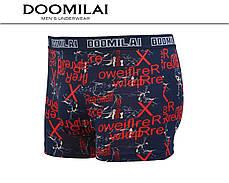 Чоловічі боксери стрейчеві з бамбука Марка «DOOMILAI» Арт.D-01301, фото 3
