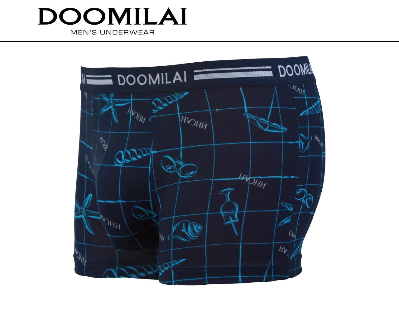 Мужские боксеры стрейчевые из бамбука  Марка  «DOOMILAI» Арт.D-01215