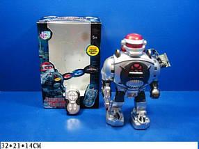 "Робот PLAY SMART 9184 ""Защитник планеты"" на р.у.муз.кор.21*14*32 ш.к./18/"
