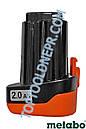 Аккумулятор для шуруповёрта Metabo PowerMax 10.8V 2A, фото 9