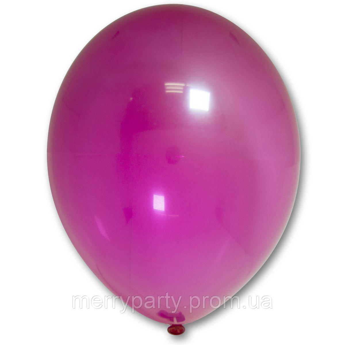 """12"""" (30 см) кристалл малиновый 105/034К Belbal Бельгия латексный шар"""